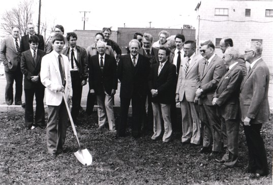 Dover Office Groundbreaking 1984